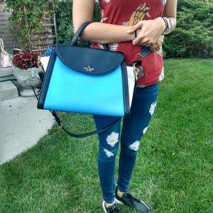 authentic Kate Spade Adrien Color Block Purse